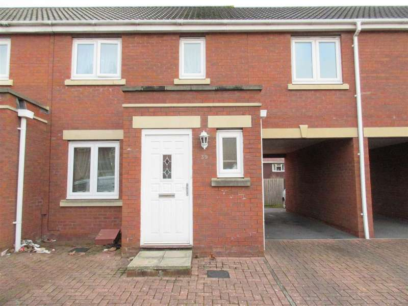 2 Bedrooms Terraced House for sale in Ankatel Close, Weston Super Mare, Bristol
