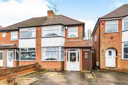 3 Bedrooms Semi Detached House for sale in Sylvan Avenue, Northfield, Birmingham, West Midlands