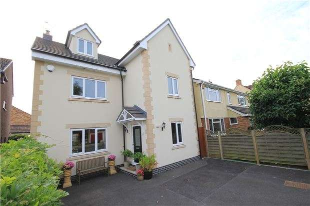 5 Bedrooms Detached House for sale in Watleys End Road, Winterbourne, BRISTOL, BS36 1PQ