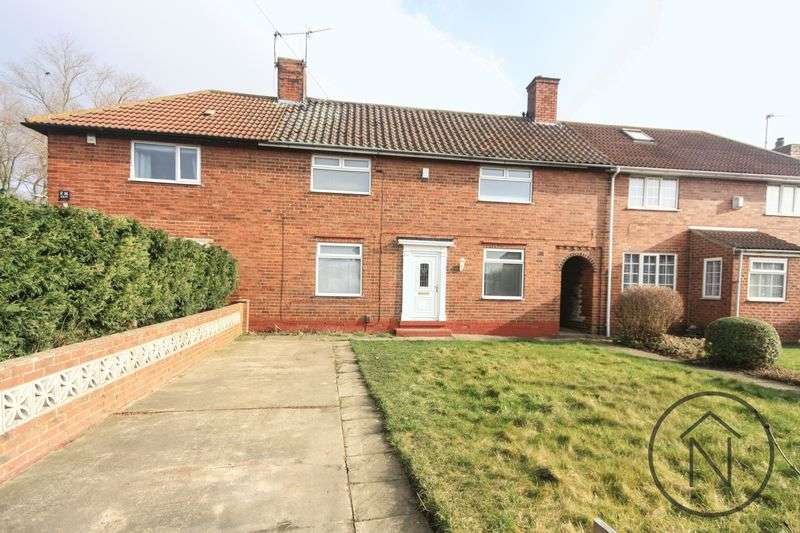 3 Bedrooms Terraced House for sale in Stokesley Crescent, Billingham
