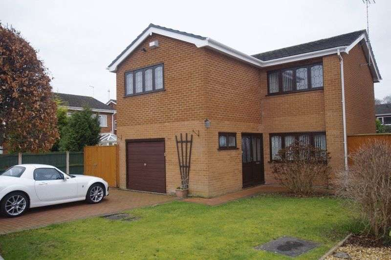 4 Bedrooms Detached House for sale in Cornish Close, Wrexham