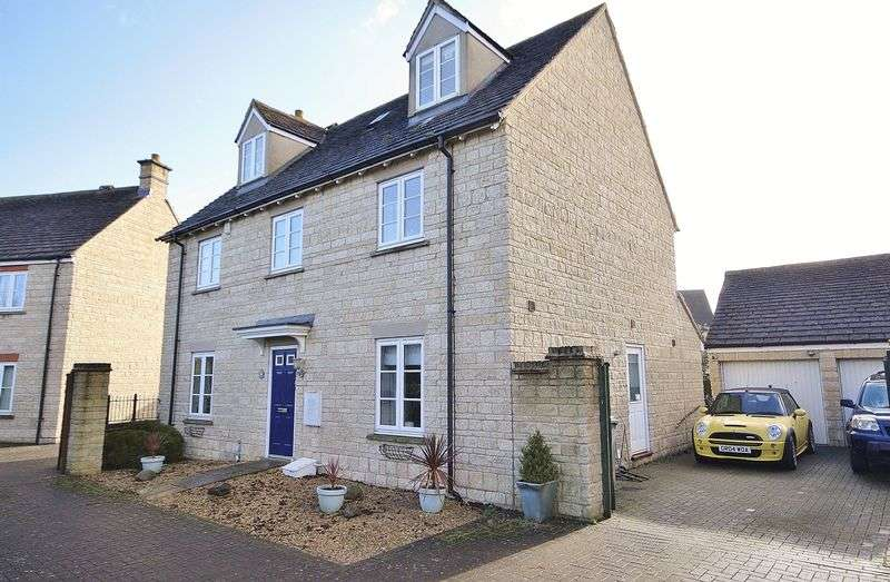 5 Bedrooms Detached House for sale in CAMPION WAY, Madley Park, Witney OX28 1ES