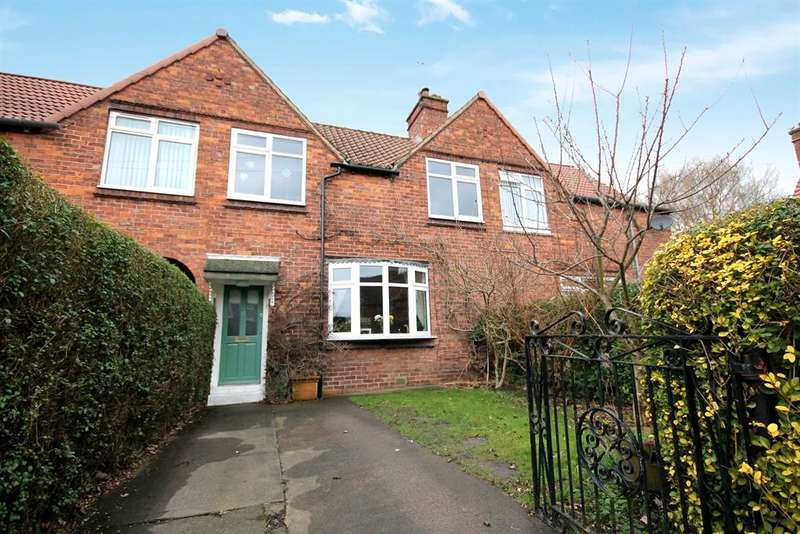3 Bedrooms Terraced House for sale in Fulford Cross, York, YO10 4PB