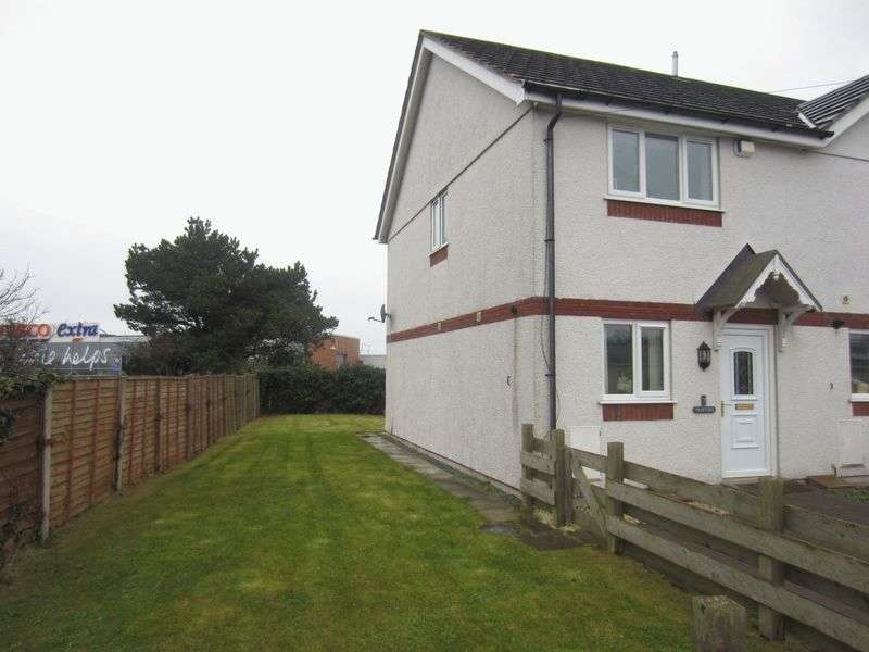 2 Bedrooms Terraced House for sale in Stad Glasfryn, Holyhead