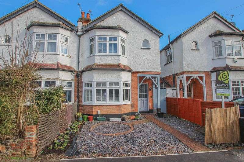 3 Bedrooms Semi Detached House for sale in Loseberry Road, Claygate