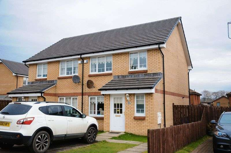 3 Bedrooms Semi Detached House for sale in Convent Road, Barrhead, Glasgow