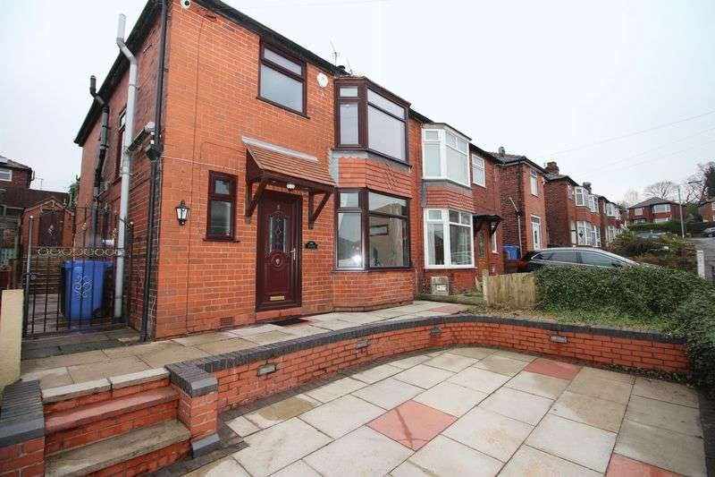3 Bedrooms Semi Detached House for sale in Scott Road, Prestwich M25