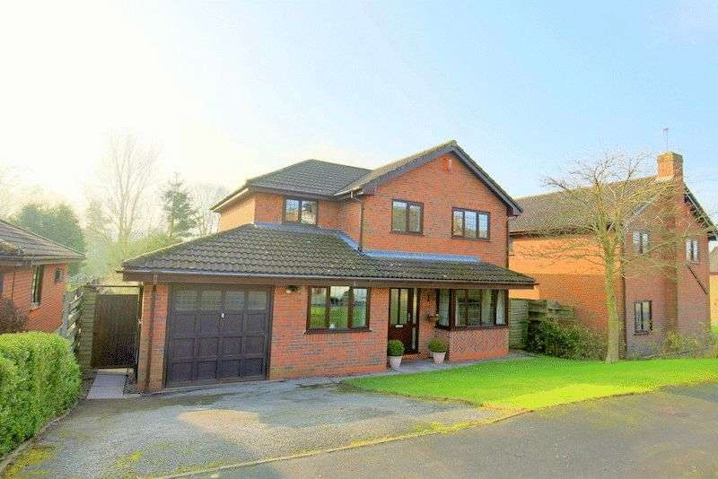 4 Bedrooms Detached House for sale in Brookfield, Loggerheads, Market Drayton