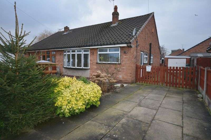 2 Bedrooms Semi Detached Bungalow for sale in Tennyson Avenue, Crewe