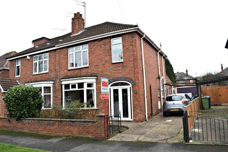 3 Bedrooms Semi Detached House for sale in Carson Road, Gainsborough