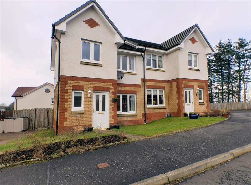 3 Bedrooms Semi Detached House for sale in Graham Wynd, High Whitehills, EAST KILBRIDE