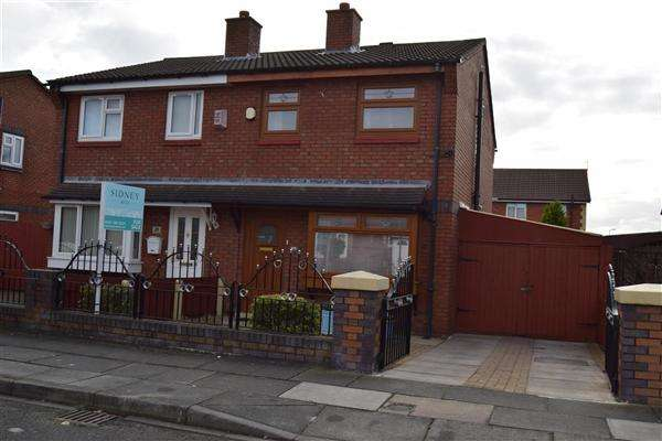 2 Bedrooms Semi Detached House for sale in Caspian Road, Liverpool