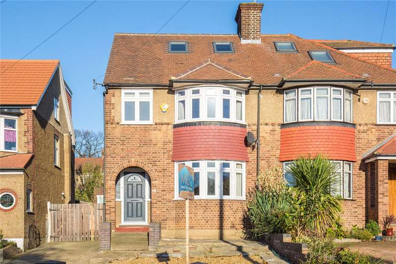 4 Bedrooms Semi Detached House for sale in Dawlish Avenue, Palmers Green, N13