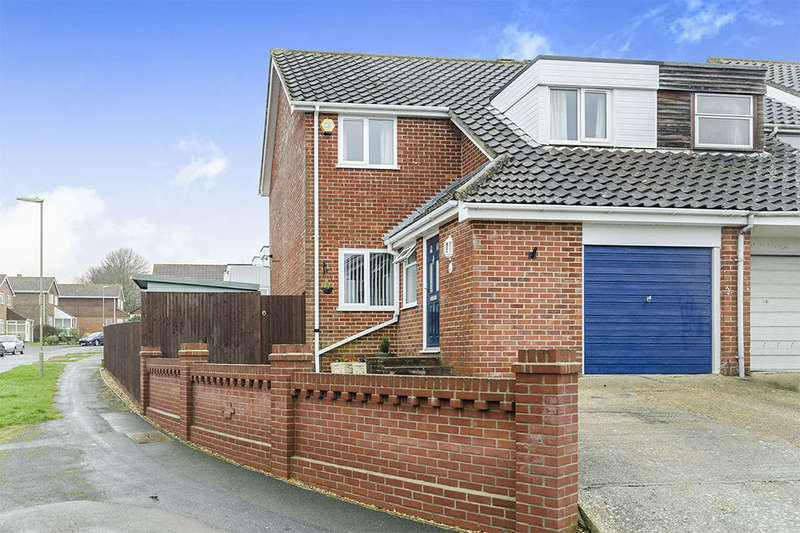 3 Bedrooms Semi Detached House for sale in Garstons Close, Fareham, PO14
