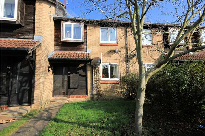 1 Bedroom Maisonette Flat for sale in Willowmead Close, Woking, Surrey, GU21
