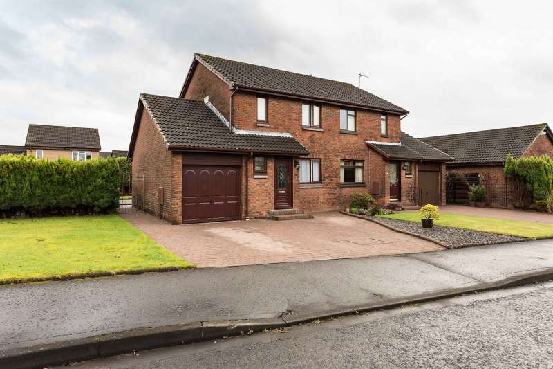 3 Bedrooms Semi Detached House for sale in The Cedars, Tullibody, Clackmannanshire, FK10 2PX