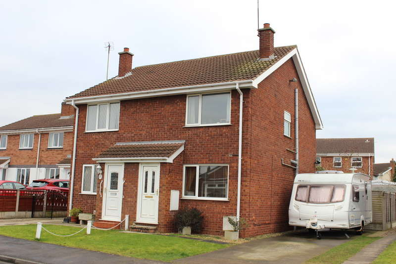 2 Bedrooms Semi Detached House for sale in Willow Rise, Thorpe Willoughby
