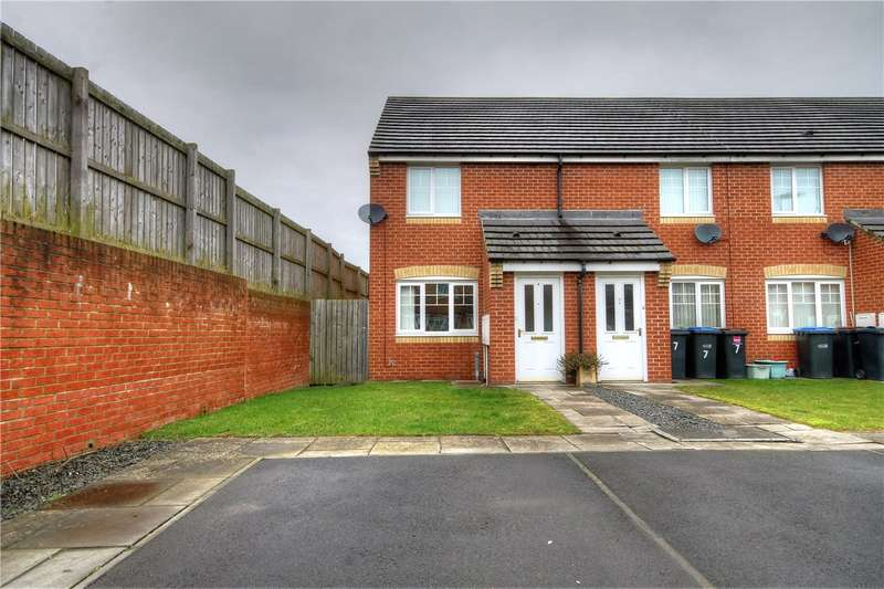 2 Bedrooms End Of Terrace House for sale in St Cuthberts Meadow, Sacriston, Durham, DH7