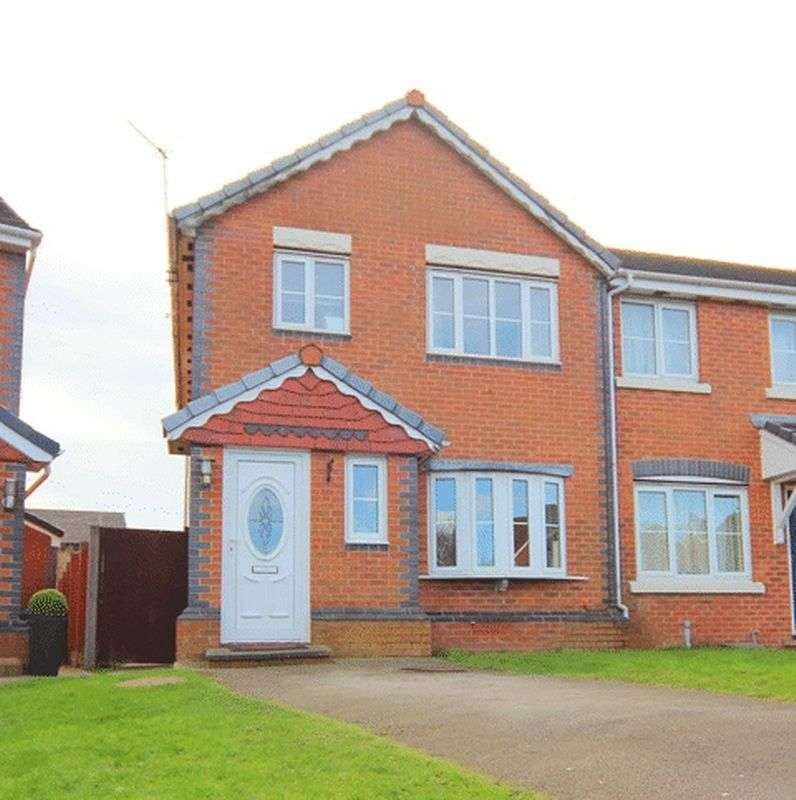 3 Bedrooms Semi Detached House for sale in Burland Road, Halewood, Liverpool, L26