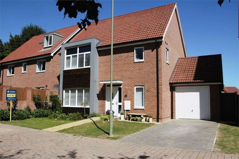 5 Bedrooms Detached House for sale in Messner Street, Everest Park, Basingstoke, RG24