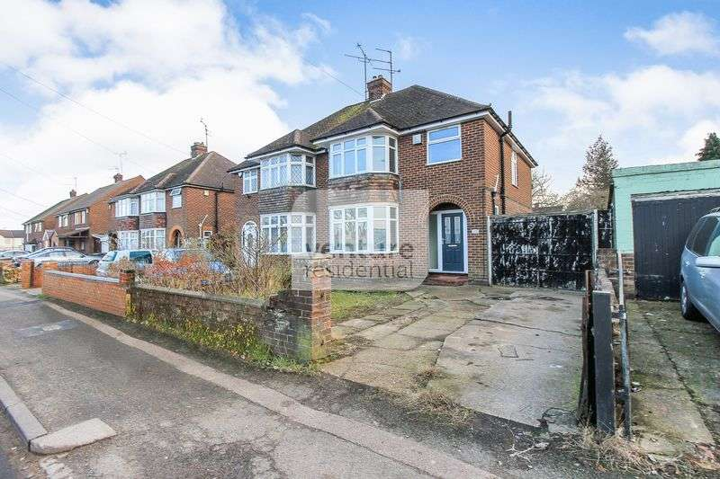 3 Bedrooms Semi Detached House for sale in Wingate Road, Luton