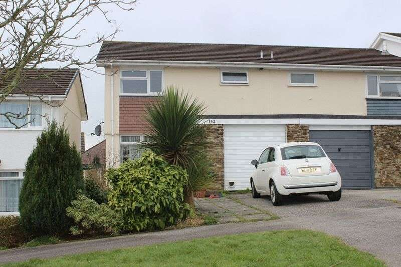 3 Bedrooms Semi Detached House for sale in Killyvarder Way, St. Austell