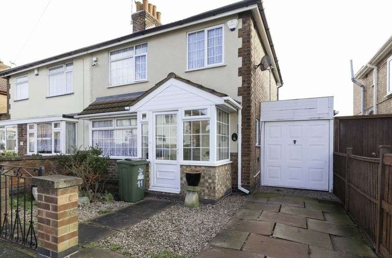 3 Bedrooms Semi Detached House for sale in Gwendolin Avenue, Leicester