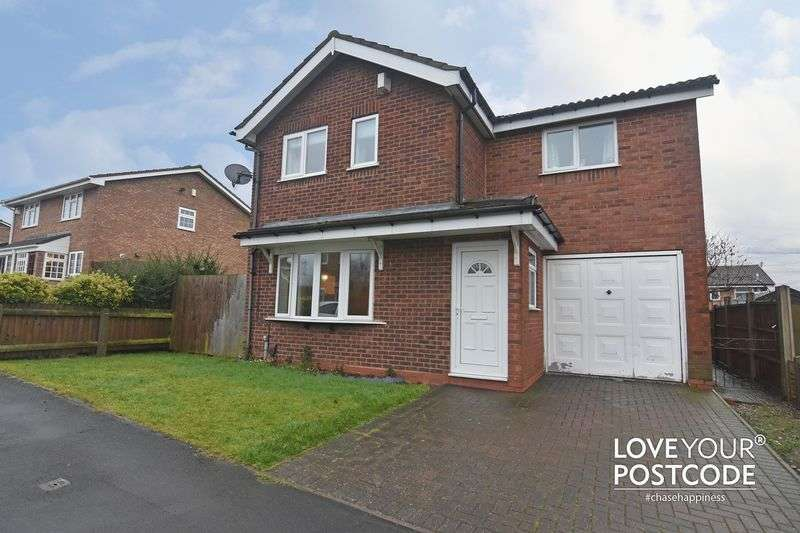 4 Bedrooms Detached House for sale in Palmerston Drive, Oldbury, B69 3NA