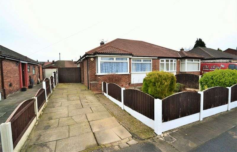 3 Bedrooms Semi Detached Bungalow for sale in Normanby Grove, Swinton