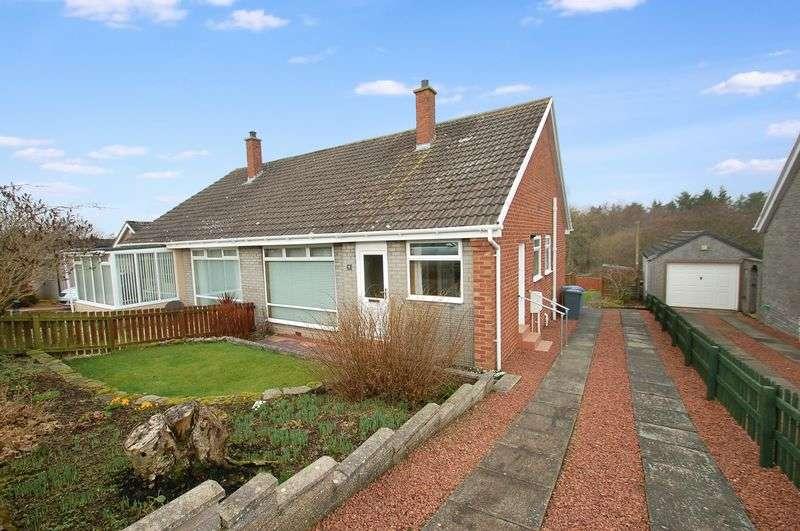 2 Bedrooms Semi Detached Bungalow for sale in Laverockhall, Lanark