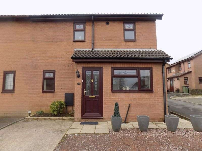 2 Bedrooms Semi Detached House for sale in Almond Close, Llantwit Fardre, Pontypridd CF38 2PX
