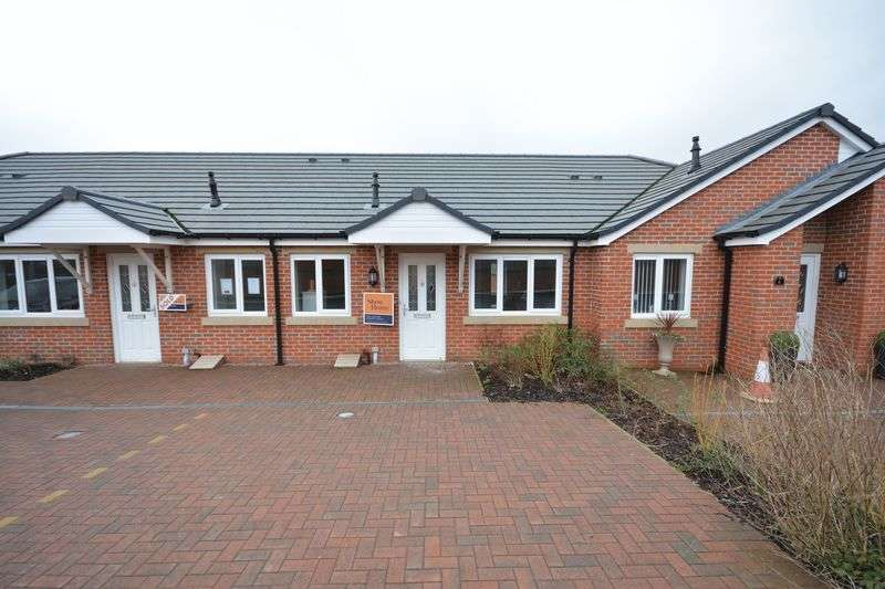 2 Bedrooms Semi Detached Bungalow for sale in Weavers Place, Great Harwood
