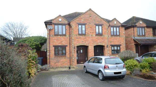 3 Bedrooms Semi Detached House for sale in Rutland Gate, Maidenhead, Berkshire