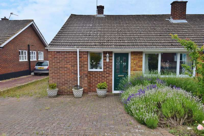 2 Bedrooms Semi Detached Bungalow for sale in Evenhill Road, Littlebourne, Canterbury