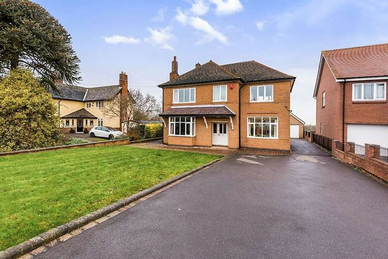 5 Bedrooms Detached House for sale in Ashby Road, Coalville, LE67