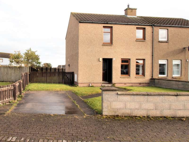 2 Bedrooms Semi Detached House for sale in 5 Tannachy Road, Portgordon, Buckie, AB56 5PG