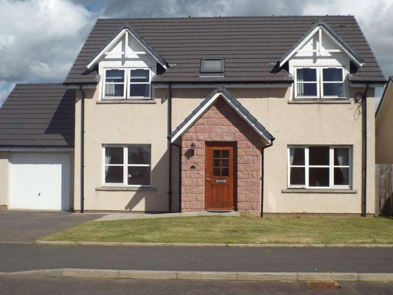4 Bedrooms Detached House for sale in 3 Crichie Place, Petterculter, Fettercairn, AB30 1EZ