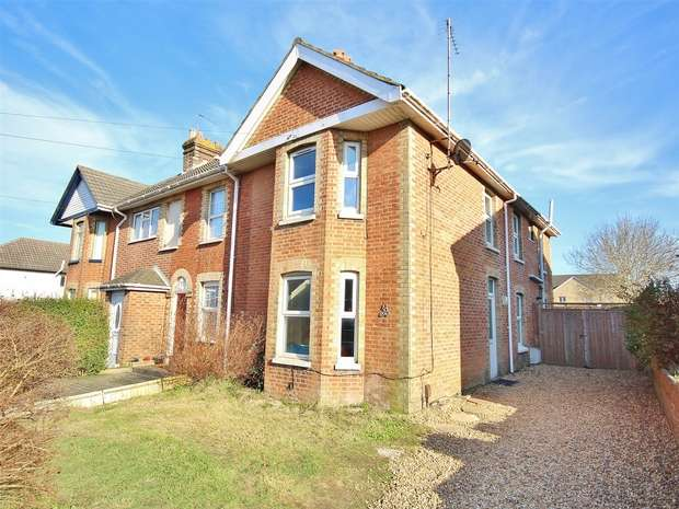 3 Bedrooms End Of Terrace House for sale in Sea View Road, Parkstone, POOLE, Dorset