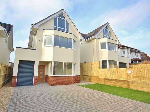 4 Bedrooms Detached House for sale in Gorse Hill Road, Oakdale, Oakdale, Poole, Dorset