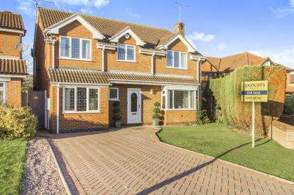 4 Bedrooms Detached House for sale in School Crescent, Broughton Astley, Leicester, Leicestershire
