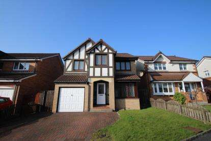 4 Bedrooms Detached House for sale in English Row, Calderbank, Airdrie, North Lanarkshire