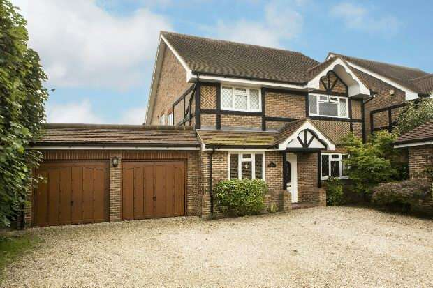 6 Bedrooms Detached House for sale in Lansdowne Gardens, Spencers Wood, Reading