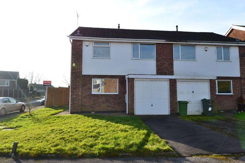 3 Bedrooms Semi Detached House for sale in Dencer Close, Rubery, Birmingham
