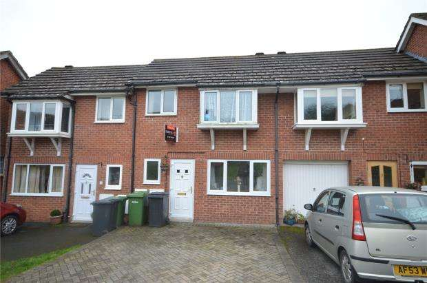3 Bedrooms Terraced House for sale in Falkland Close, Pennsylvania, Exeter, Devon