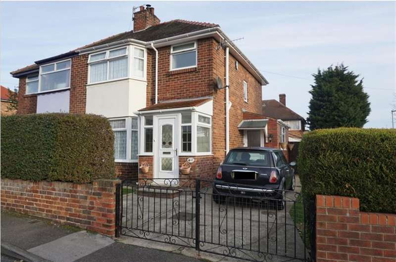 3 Bedrooms Semi Detached House for sale in Vernon Grove, Scarborough, YO12 6DP