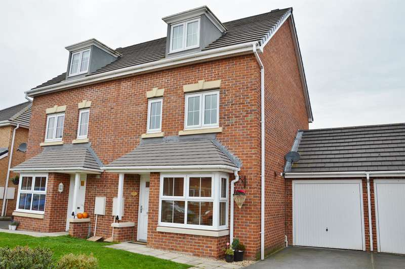 4 Bedrooms Town House for sale in The Covert, Coulby Newham, Middlesbrough, TS8 0WN