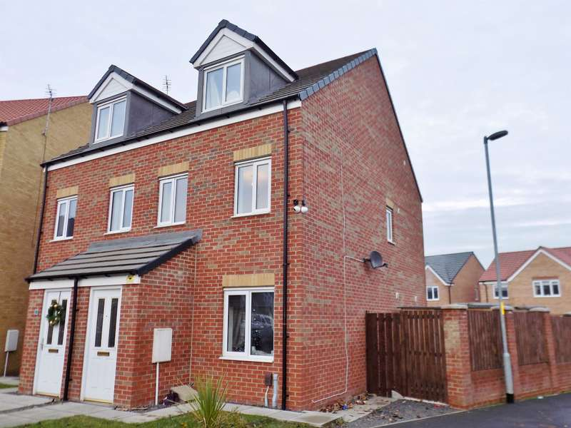 3 Bedrooms Semi Detached House for sale in Oval View, Scholars Rise, Middlesbrough, TS4 3SW