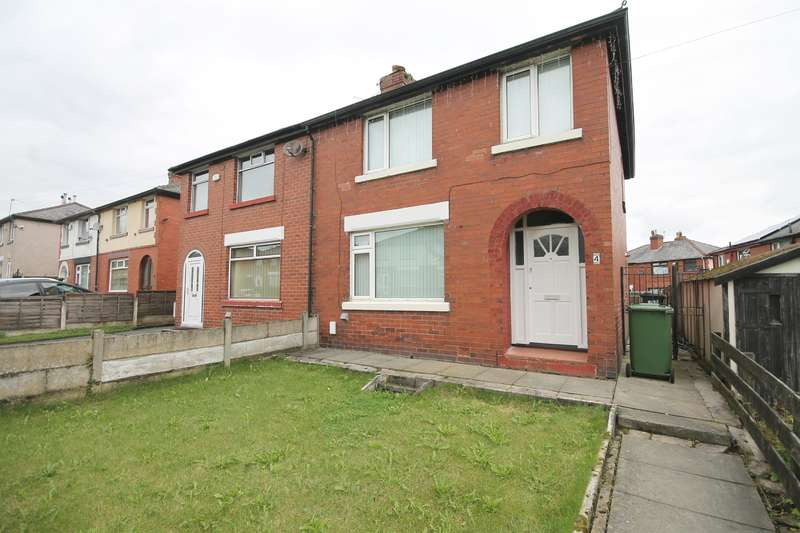 3 Bedrooms Semi Detached House for sale in Orchid Avenue, Farnworth, Bolton, BL4 0ES