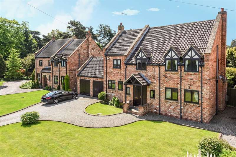 4 Bedrooms Detached House for sale in Wighill Lane, Tadcaster, North Yorkshire, LS24 8HE