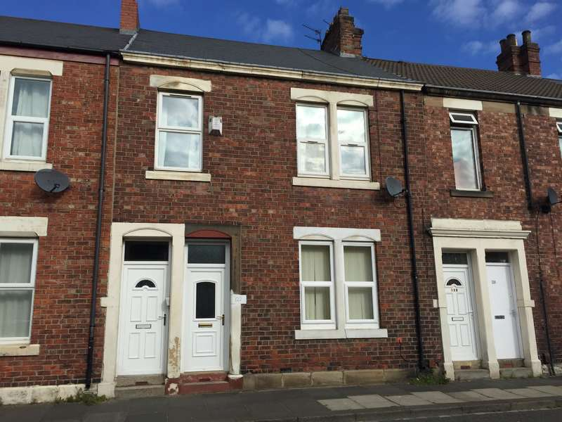 2 Bedrooms Ground Flat for sale in Bewicke Road, Wallsend